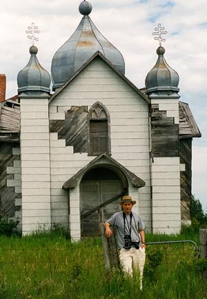 Sterling demchinsky in 1998 — standing in