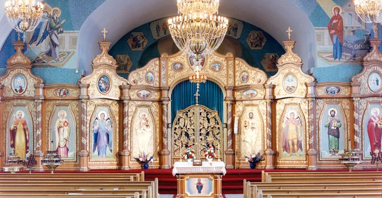 00a09b796 The Iconostas in Ukrainian Churches